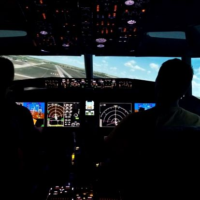 Zalétej si na simulátoru letounu Boeing 737Max 40 min