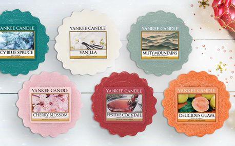 Yankee Candle: 16 vůní ve vosku do aromalampy