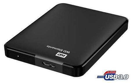 "Externí pevný disk 2,5"" Western Digital Elements Portable 1,5TB černý (WDBU6Y0015BBK-WESN)"