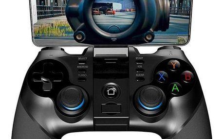 iPega 3v1 s USB přímačem, iOS/Android, BT černý (PG-9156)