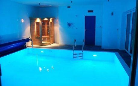 Orlické hory v apartmánech Penzionu Patriot se snídaní a privátním wellness s bazénem a saunou