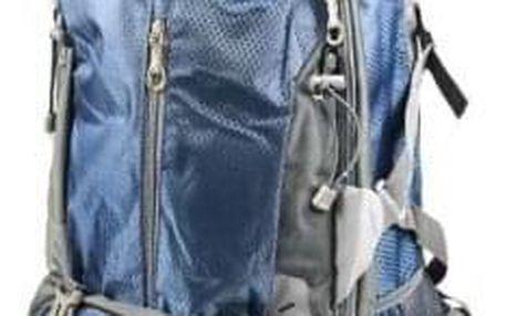 Hosen batoh outdoorový modrý 65l