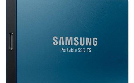 SSD externí Samsung T5 500GB modrý (MU-PA500B/EU)