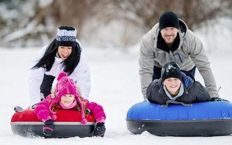 Nafukovací kluzák na zimu pro děti i dospělé