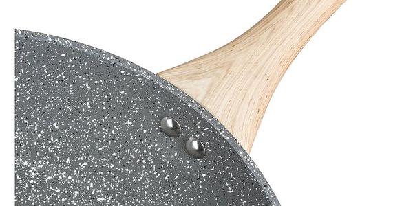 BANQUET Pánev s nepřilnavým povrchem NATURAL STONE 20 x 4,3 cm, pr. 20 cm3