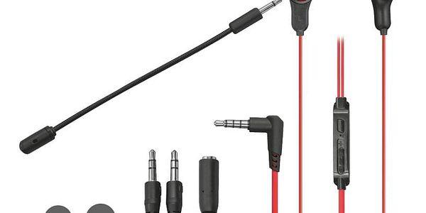 Headset Trust GXT 408 Cobra (23029) černý/červený2