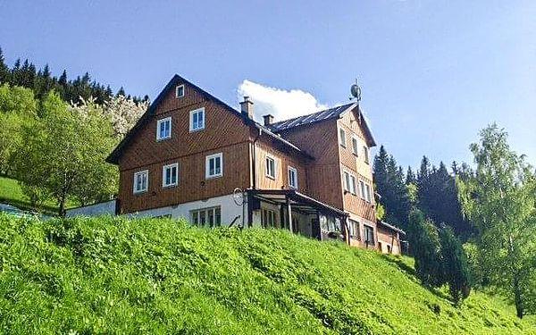 Krkonoše: Pec pod Sněžkou v Horské chatě Orlík *** s privátním wellness, plnou penzí a all inclusive nápoji