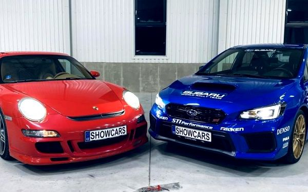 Porsche 911 vs Subaru Impreza WRX (2x16 km), cca 40 minut (32 km) + instruktáž, počet osob: 1 osoba, Praha (Praha)3
