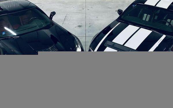 Porsche 911 vs Subaru Impreza WRX (2x16 km), cca 40 minut (32 km) + instruktáž, počet osob: 1 osoba, Praha (Praha)4