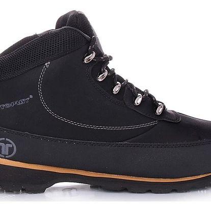 TOPLAY Pánské černé boty VOP16D11-2B Velikost: 43 (28 cm)