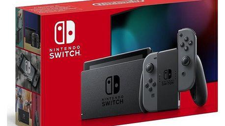 Herní konzole Nintendo Switch s Joy-Con v2 šedá (NSH002)