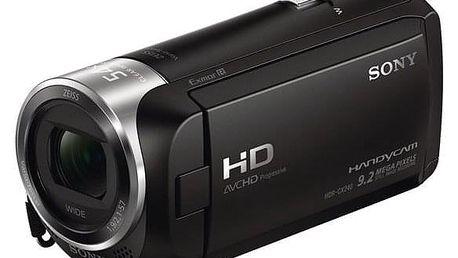 Videokamera Sony HDR-CX240E černá