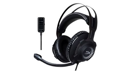 Headset HyperX Cloud Revolver Gaming - Gun Metal (HX-HSCR-GM)