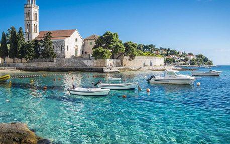 Chorvatsko na 8 dnů, polopenze