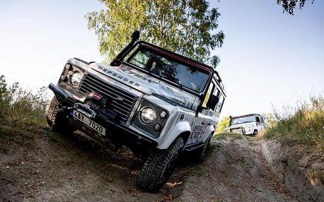 Kurz offroad jízdy v Land Roveru