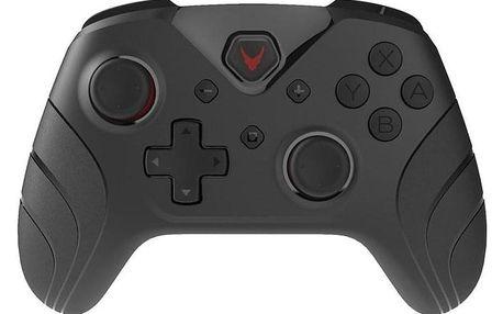 Omega VARR NOVA pro Nintendo SWITCH/PC, Bluetooth černý (OGPSWBT)