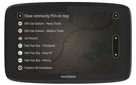 Tomtom GO Professional 620 EU, Lifetime černá (1PN6.002.05)