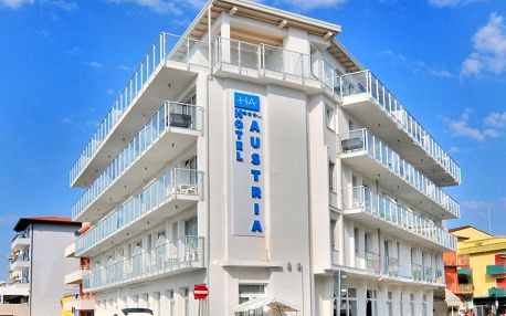 Itálie, Caorle: Hotel Austria