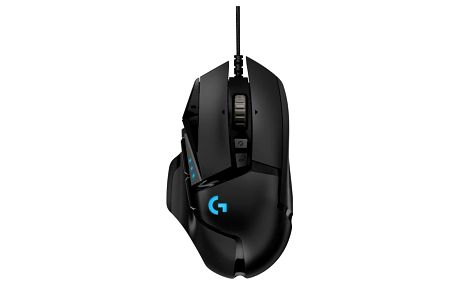 Myš Logitech Gaming G502 Hero High Performance černá (910-005470)