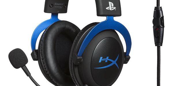 Headset HyperX Cloud Gaming pro PS4 (HX-HSCLS-BL/EM) černý/modrý + DOPRAVA ZDARMA2