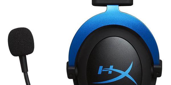 Headset HyperX Cloud Gaming pro PS4 (HX-HSCLS-BL/EM) černý/modrý + DOPRAVA ZDARMA3