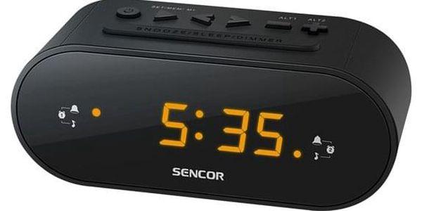 Radiobudík Sencor SRC 1100 B černý (35048490)