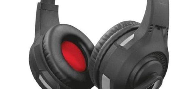 Headset Trust GXT 307 Ravu Gaming pro PC/PS4 - červený (22450)
