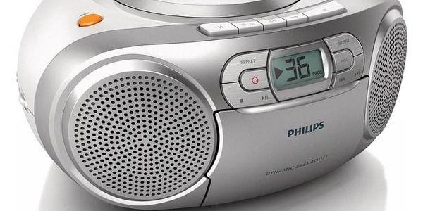 Radiomagnetofon s CD Philips AZ1273