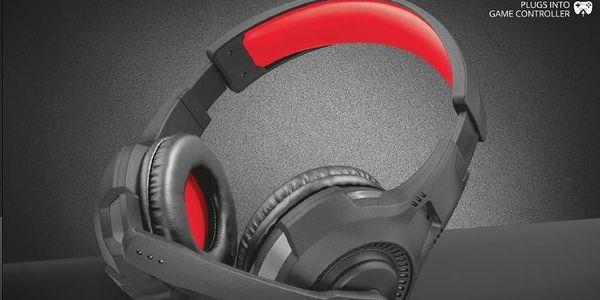 Headset Trust (22450) červený5