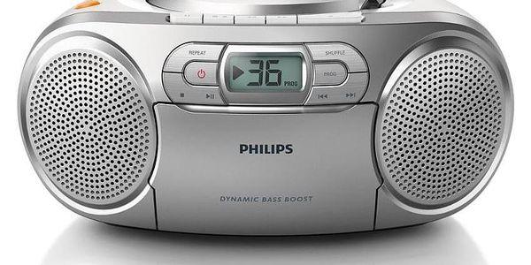 Radiomagnetofon s CD Philips AZ1274