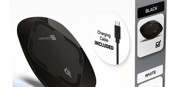 Bezdrátová nabíječka Connect IT Qi CERTIFIED Wireless Fast Charge (CWC-7500-BK) černá4