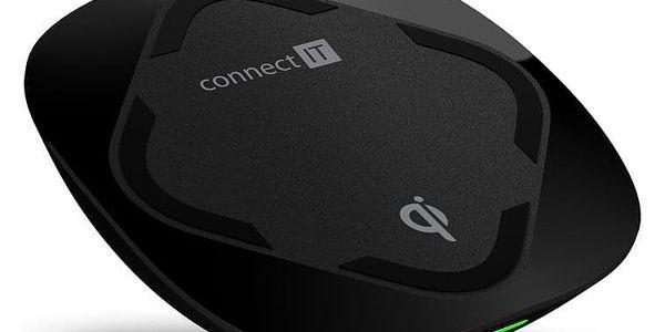 Bezdrátová nabíječka Connect IT Qi CERTIFIED Wireless Fast Charge černá (CWC-7500-BK)
