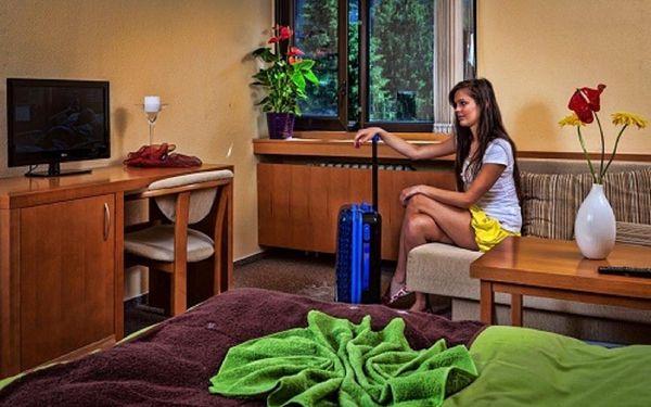 Dvoulůžkový pokoj Classic s oddělenými postelemi, přistýlkou a balkonem5