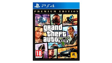 Hra RockStar PlayStation 4 Grand Theft Auto V - Premium Edition (5026555424264)