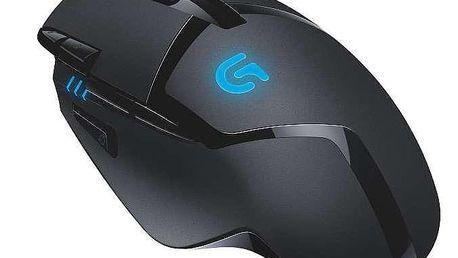 Logitech Gaming G402 Hyperion Fury černá / laserová / 8 tlačítek / 4000dpi (910-004067)