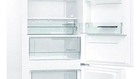 Chladnička s mrazničkou Gorenje NRK6202GHW4 bílá