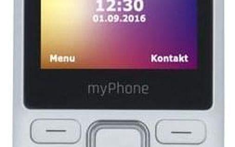 myPhone 6310 Dual SIM bílý (TELMY6310WH)