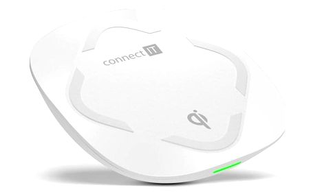 Connect IT Qi CERTIFIED Wireless Fast Charge bílá (CWC-7500-WH)