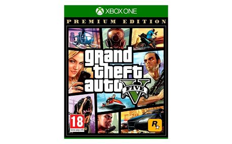 Hra RockStar Xbox One Grand Theft Auto V - Premium Edition (5026555359993)