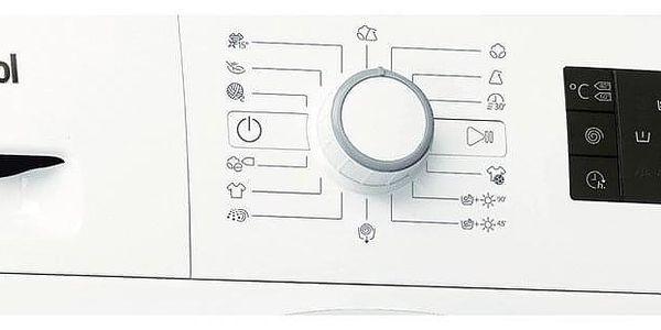 Automatická pračka se sušičkou Whirlpool FWDG86148W EU bílá2