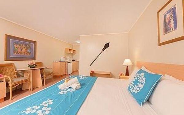 Moana Sands Beachfront Hotel, Cookovy ostrovy, letecky, snídaně v ceně3