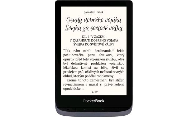 Čtečka e-knih Pocket Book 632 Touch HD 3 - Metallic Grey (PB632-J-WW)2