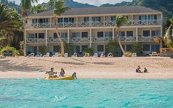 Cookovy ostrovy letecky na 8-15 dnů, snídaně v ceně