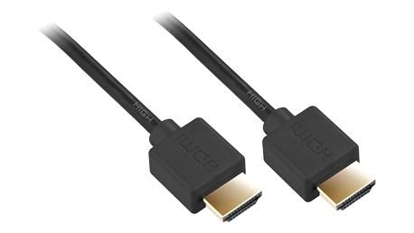 Kabel GoGEN HDMI 1.4, 10m, pozlacený, High speed, s ethernetem černý (HDMI10MMM02)