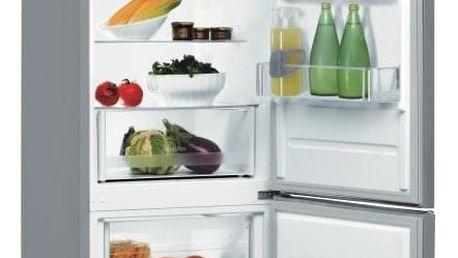 Chladnička s mrazničkou Indesit LR6 S2 X nerez