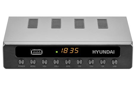 Set-top box Hyundai DVBT 250 PVR černý