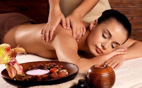 90min. královská masáž vč. třezalkového zábalu
