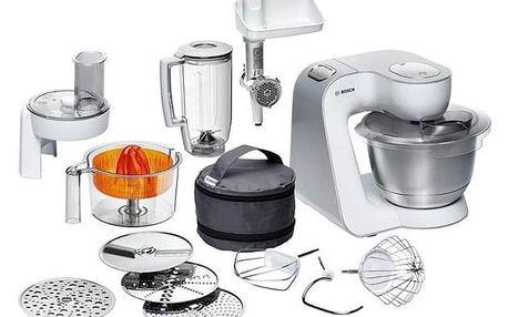 Kuchyňský robot Bosch CreationLine MUM58259 bílý