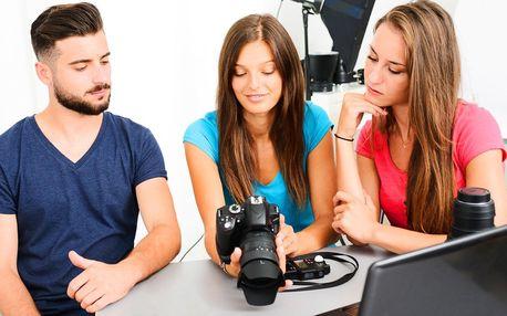 Fotokurz ovládání zrcadlovky i pro začátečníky