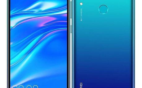 Huawei Y7 2019 Dual SIM modrý (SP-Y719DSLOM)